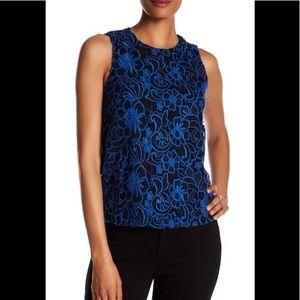 NWT $135 Cooper & Ella embroider top shirt blouse